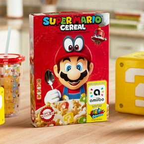 Cereal temático de Super Mario