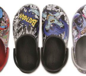 Crocs lança coleção com estampas Batman, Spider-Man e Star Wars