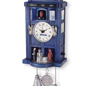 Doctor Who: Tradicional relógio cuco TARDIS