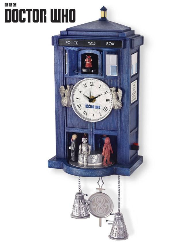 Doctor Who: Relógio cuco TARDIS