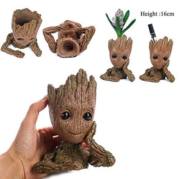 Baby Groot: Suporte de plantas Guardiões da Galáxia