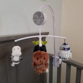 Móbile Star Wars: treine o seu jedi desde o berço