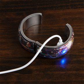 Bracelete de LED inspirado em Mario Kart