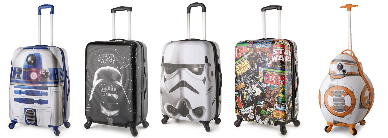 Bagaggio lança coleção de malas Star Wars: Viaje com Darth Vader, BB-8 e outros personagens!