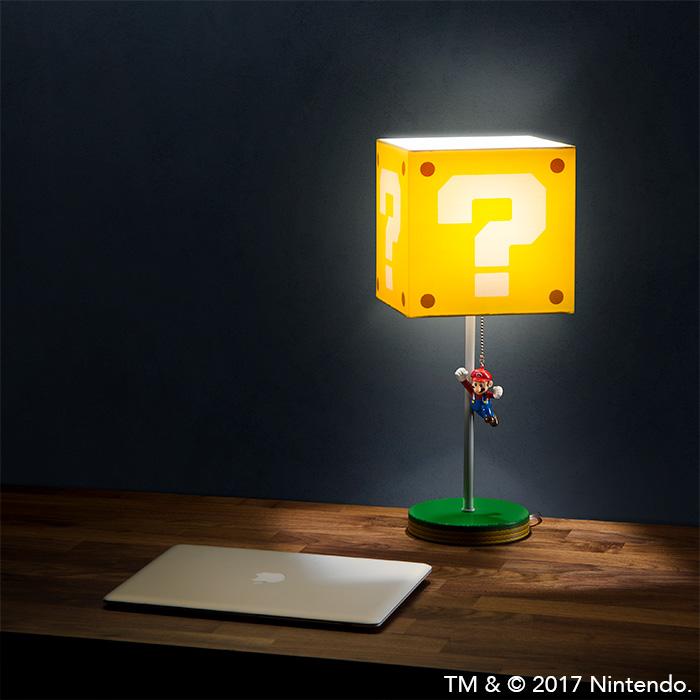 Super Mario Bros - Luminárias divertidas do Reino do Cogumelo