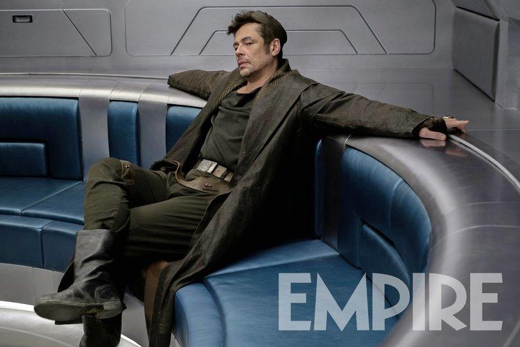 """Empire divulga foto de """"DJ"""", estrelado por Benicio del Toro em Star Wars"""