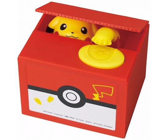 Cofrinho Pikachu faz você economizar de forma divertida!