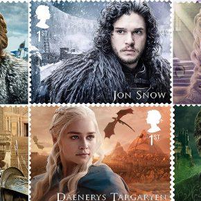 Reino Unido lança coleção de selos Game of Thrones