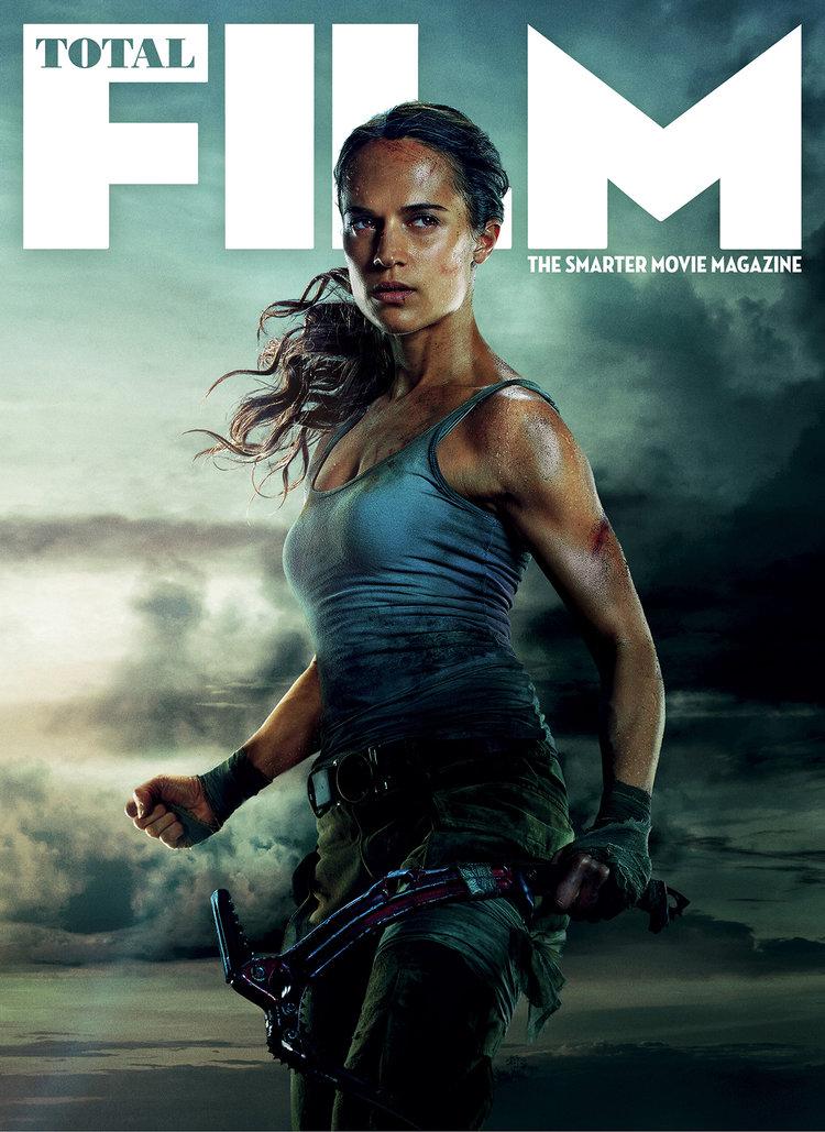 Alicia Vikander estampa capa de Total Film como a nova Lara Croft