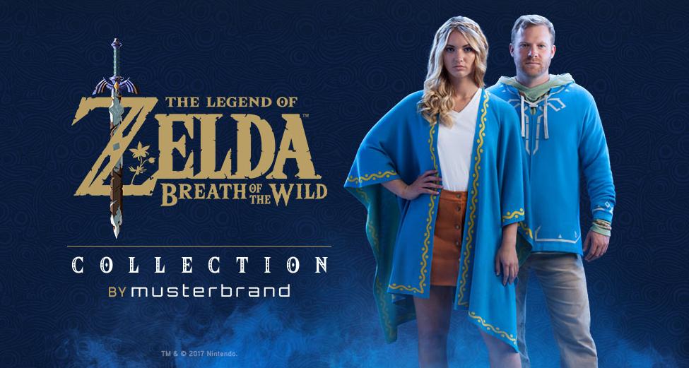 The Legend of Zelda: Nova coleção traz acessórios e roupas Breath of the Wild