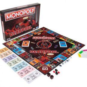 Hasbro lança tradicional jogo monopoly do Deadpool