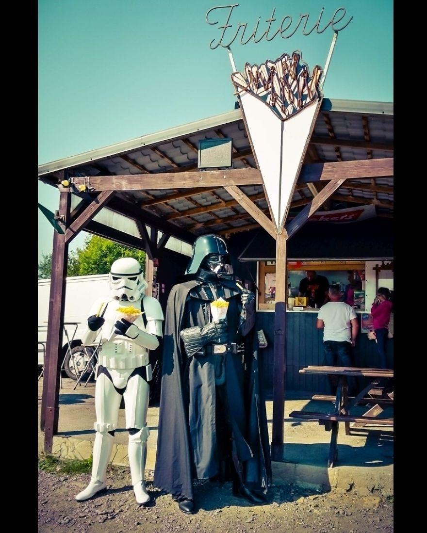 O Império contra a crise: Veja como seria se o Darth Vader fosse gente como a gente!