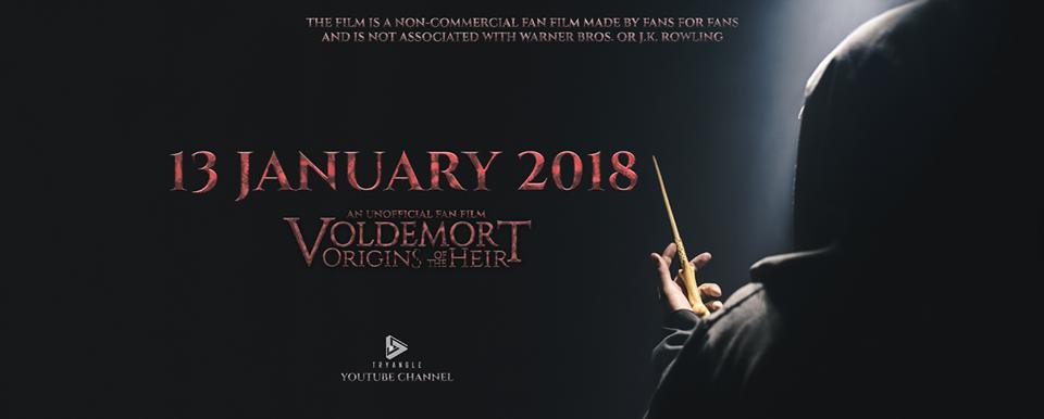 Voldermort: A Origem do Herdeiro, o fã filme sobre a vida de Tom Riddle