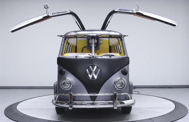 Volkswagen Kombi inspirada em DeLorean de De Volta Para o Futuro