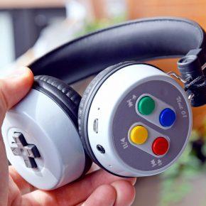 Fone de ouvido 16-Beat: Headphone inspirado em controles SNES!
