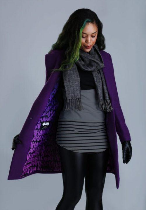 Jaquetas da DC Comics: Coringa, Arlequina e Mulher Maravilha