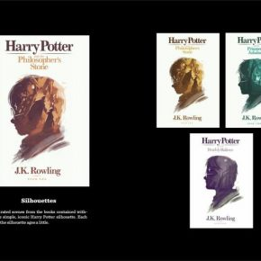 Harry Potter: Artista Olly Moss cria ilustrações em série de capas