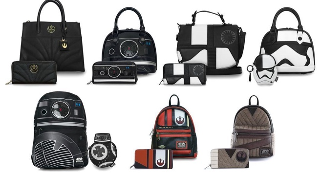 Star Wars: Os Últimos Jedi - Loungefly lança coleção de bolsas e mochilas de personagens da saga