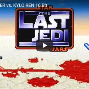 Luta final de Star Wars: Os Últimos Jedi ganha versão em 16 Bit