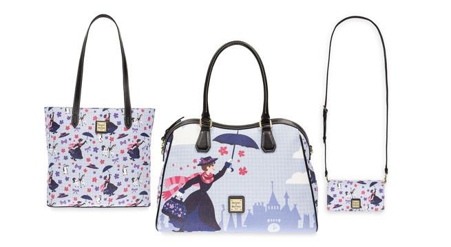 Mary Poppins: coleção de bolsas temáticas do musical