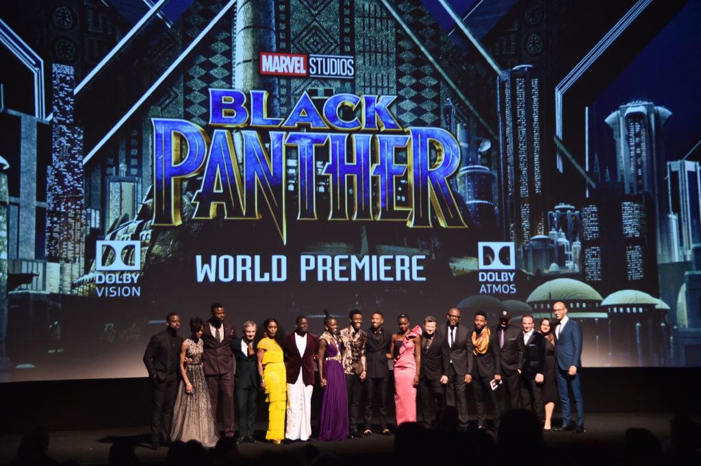 Pantera Negra: Confira as fotos da première mundial