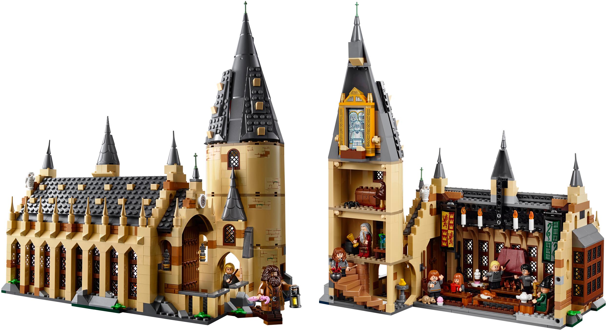 LEGO: Salão Principal de Hogwarts é lançado em linha de produtos Harry Potter