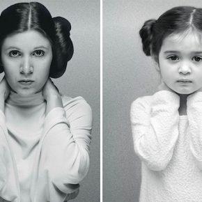 Menina de três anos se veste como mulheres poderosas e o resultado é incrível