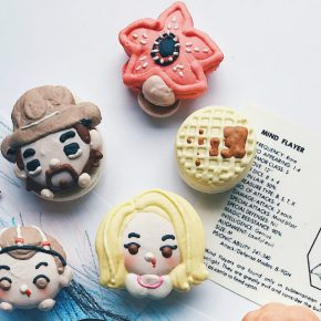 Patisseria americana cria macarons de personagens nerds