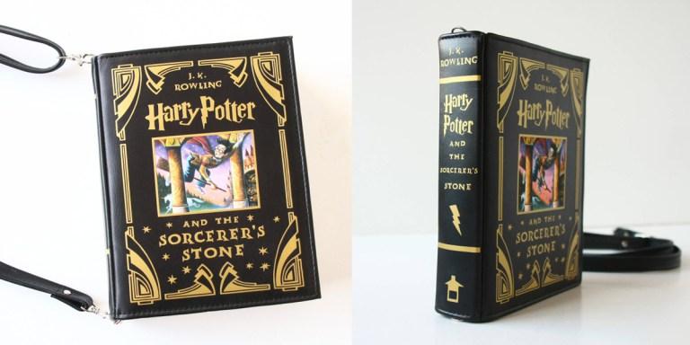 Bolsas em formato de livros clássicos para você levar o que quiser
