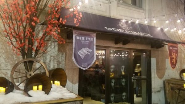 Game of Thrones: Bar pop-up temático da série