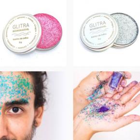 Marcas apostam em glitter biodegradável
