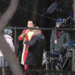 Shazam: Fãs vazam fotos de Zachary Levi no uniforme do herói