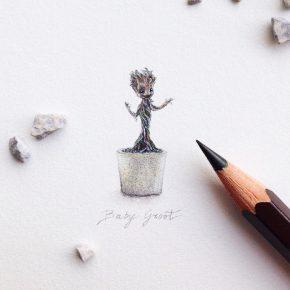 Artista italiana recria ilustrações em miniatura da cultura pop!