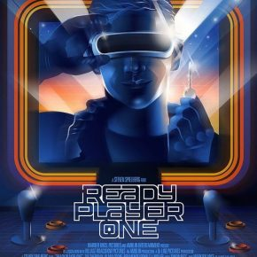 Jogador Nº 1: Pôsteres lançados na SXSW possuem ilusões de óticas e mensagens