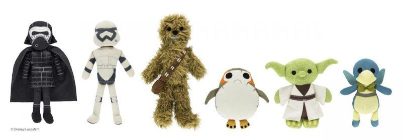 brinquedos pelúcia star wars