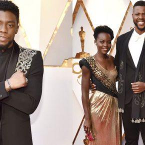 Heroínas, heróis e vilões passaram pelo tapete vermelho do Oscar 2018