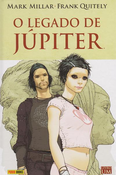 capa o legado de júpiter volume um