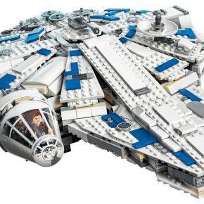 Star Wars: LEGO lança Millennium Falcon com mais de 1400 peças inspirada em Han Solo: Uma História de Star Wars