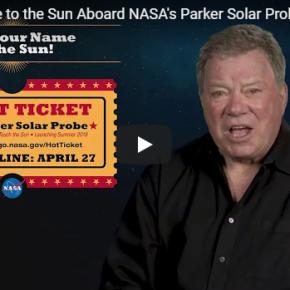 Envie seu nome para o sol com a nave Parker Solar Probe!