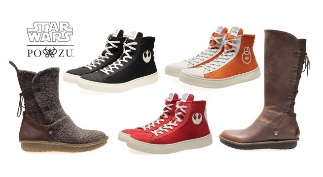 Po-Zu cria coleção inédita de botas e tênis inspirado em Star Wars