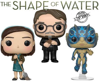 A Forma da Água: Funko lançará mini figuras do filme