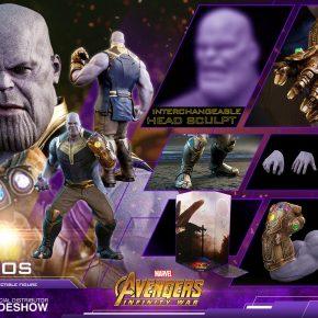 Vingadores - Guerra Infinita: Thanos ganha nova action figure com a Manopla completa