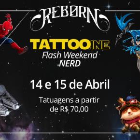 Tattooine: flash weekend de tatuagens nerds no Rio de Janeiro