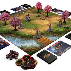 Street Fighter ganha versão board game