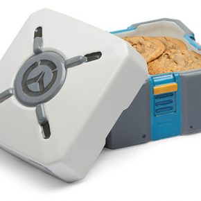 Overwatch: Loot Box para guardar os seus biscoitos!