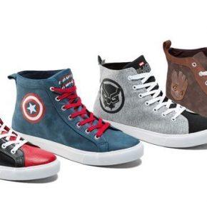 Conheça a linha completa dos mais novos sneakers e acessórios da Marvel