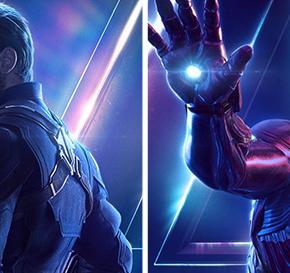 Os Vingadores: Guerra Infinita - nova série de pôsteres!