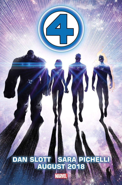 Marvel Comics voltará a publicar Quarteto Fantástico em agosto