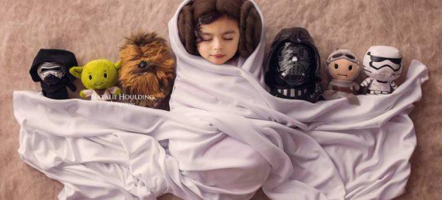 Ensaio fotográfico com bebês inspirados na Cultura Pop!