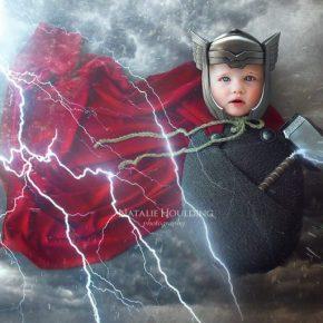 Ensaio fotográfico com recém-nascidos inspirados na Cultura Pop!